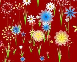 Цветочная рисовалка