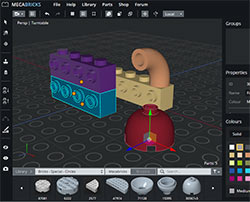 MecaBricks - 3D конструктор